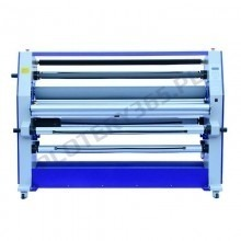Double-sided large-format hot laminator