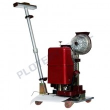 Automatic eyelet machine for banners, eyelet size 13mm