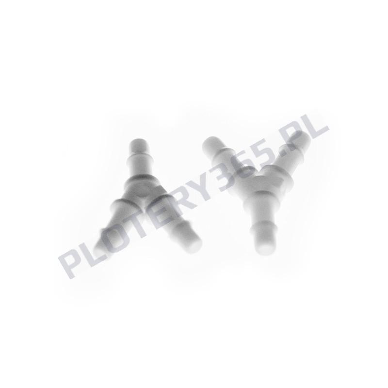 Złącze trójnik do przewodów atramentowych Eko Solwent 3mm x 2mm