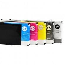 Cartridge ink for UV LED CMYK printers UV ink EPSON heads