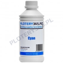 Sublimation Ink for Epson heads and printers 1 liter Cyan