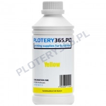 Sublimation Ink for Epson heads and printers 1 liter Yellow
