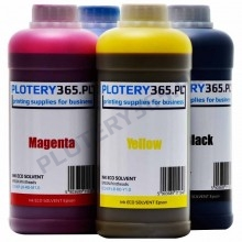 Eco solvent Original SkyColor Ink SmartJet 1 liter Black