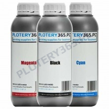 LED UV Ink Hard for printers with Konica Minolta and Ricoh heads 1L Cyan
