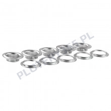 Metal eyelets for banners / 13mm automatic eyeleting machine