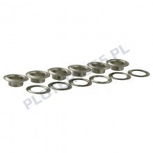 Eyelets for banners - manual eyelet machine 10mm