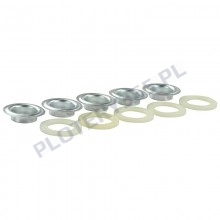Plastic banner eyelets / 13mm eyelet machine