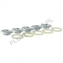 Oczka do banerów plastikowe / oczkarka automatyczna 13mm