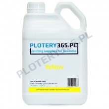 Hard Solvent Ink Ease for Konica Minolta and Spectra heads 5L Yellow