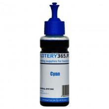 Atrament barwnikowy / Dye do drukarek HP DeskJet / OfficeJet 100ml Cyan
