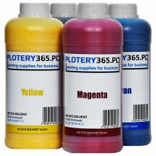 Eco solvent Ink for printers with Epson printheads 1 liter