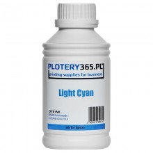 Water-based Dye ink for printers with Epson DX5 heads 500ml Light Cyan