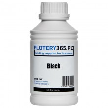Water-based Dye ink for printers with Epson DX5 heads 500ml Black