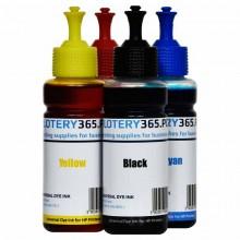 Atrament barwnikowy / Dye do drukarek HP DeskJet / OfficeJet 100ml Yellow