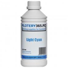 Atrament barwnikowy / Dye do ploterów z głowicami Epson DX5 1 litr Light Cyan