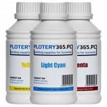 Atrament pigmentowy / Pigment do ploterów Epson Stylus Pro DX5 1 litr Light Cyan