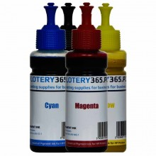 Atrament pigmentowy / Pigment do drukarek HP serii Officejet 100ml Black