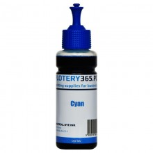 Atrament barwnikowy / Dye do drukarek HP z serii GT 100ml Cyan