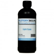 UV Ink for UV LED Printers 500ml UV Ink EPSON and RICOH heads Light Cyan