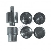 Head for manual eyelet machine (NEW) eyelet size Ø 10 / 12mm